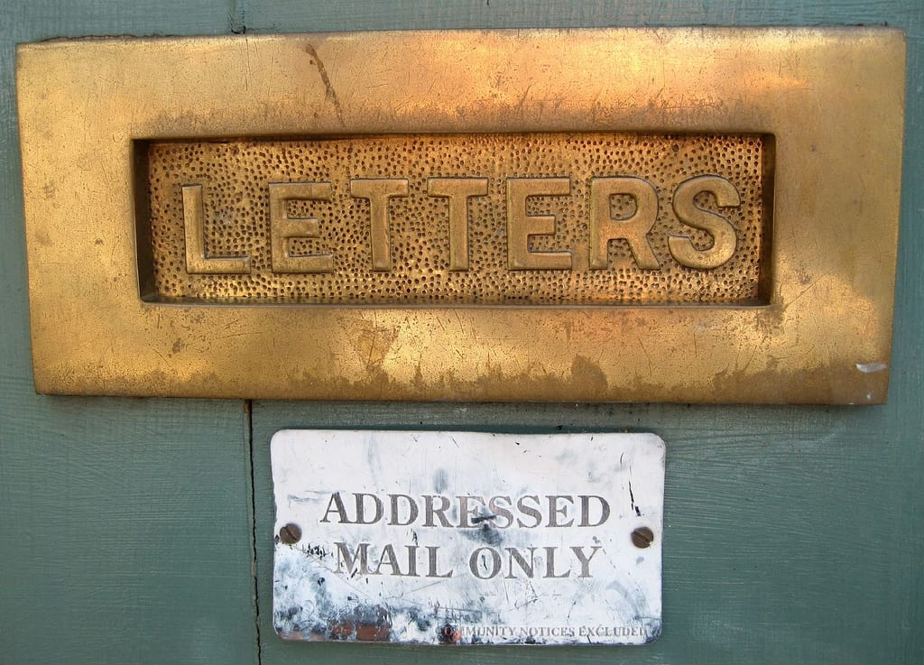 Letterbox by MrBG at Flickr