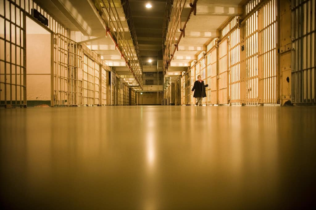 Jail Cells by Thomas Hawk at Flickr