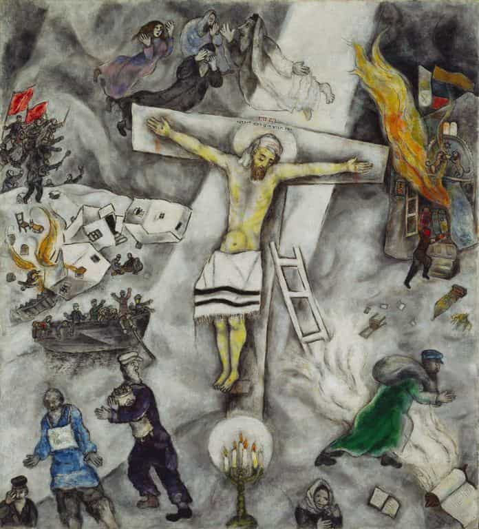 White Crucifixion by Marc Chagall.