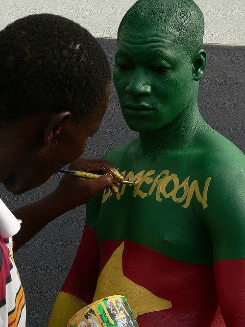 Cameroon Paint by manbeastextraordinaire at Flickr