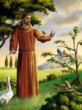 Did St. Francis share kinship with all of Creation or just the cute critters?