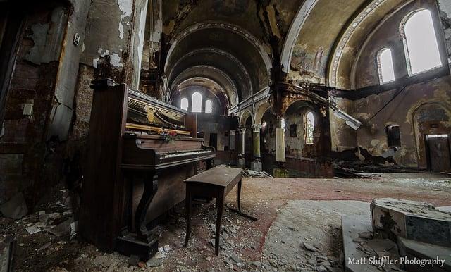 An abandoned church in Cleveland. Matt Shiffler / Flickr