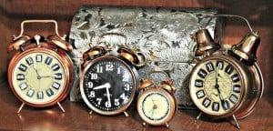 Vintage Copper Alarm Clocks | Flickr User Jean L. |Flickr Creative Commons