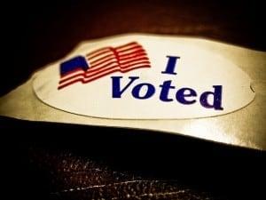 I Voted! | Flickr User Vox Efx | Flickr Creative Commons