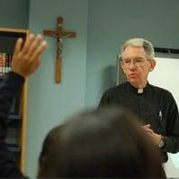 Fr. Joe Parkes, SJ, president of Cristo Rey New York.