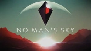 No Man's Sky logo | Hello Games, developer and publisher.