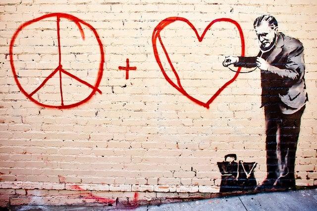 Banksy Hits San Francisco by Thomas Hawk via flickr.