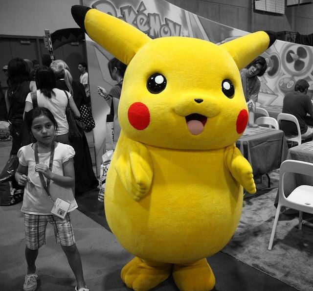 Pikachu! | Flickr User Nathan Rupert | via Flickr Creative Commons